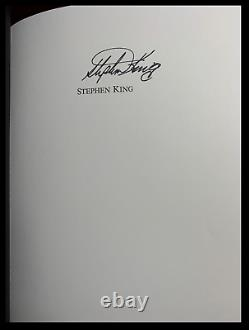Dolan's Cadillac SIGNED by STEPHEN KING Mint Lord John Limited Hardback 1/1000