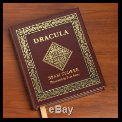 Dracula by Bram Stoker SIGNED BERRY Sealed Easton Press Leather Limited 1/1200
