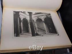 ELEPHANT FOLIO Architecture Italy RENAISSANCE Engraved Plates ART RARE 1ST ED