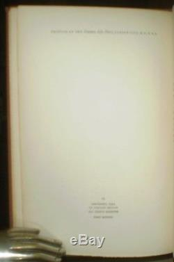 ERNEST HEMINGWAY'S PERSONAL COPY, Not Peace But A Sword, SIGNED, 1939, 1ST ED