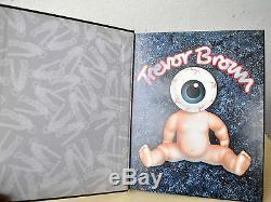 EVIL by Trevor Brown SIGNED Limited 1st Edition Art Book OOP Uber Rare