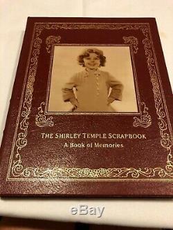 Easton Press SHIRLEY TEMPLE BLACK SCRAPBOOK Memoir Biography SIGNED FIRST ED