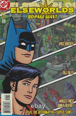 Elseworlds 80-Page Giant #1 (1999) Extremely Rare! Signed by Chuck Dixon
