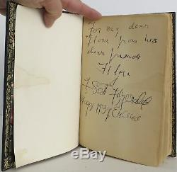 F Scott Fitzgerald / The Great Gatsby Signed 1st Edition 1925 #2004006