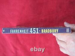 Fahrenheit 451 Signed By Ray Bradbury True First Edition First Printing 1953