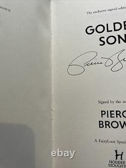 Fairyloot Deluxe Red Rising Golden Son Morning Star Pierce Brown Signed