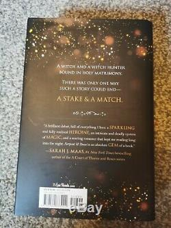 Fairyloot Exclusive Serpent And Dove Signed Hardback Sprayed Edges