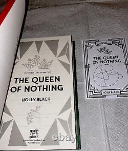 Fairyloot Queen Of Nothing QoN Holly Black Hand Signed Unread 1st Special Ed