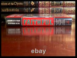 Faithful SIGNED by STEPHEN KING Hardback 1st Edition First Printing Red Sox