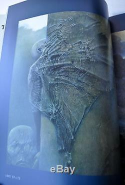 Fantastic Art of Beksinski Deluxe Leather Ltd Ed 1/150 with Signed Litho UBER RARE