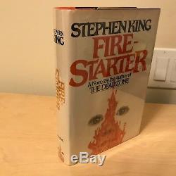 Firestarter Stephen King 1st/1st Signed