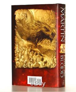 George RR Martin SIGNED Fire and Blood, A Game of Thrones Prequel HC 1st Edtion
