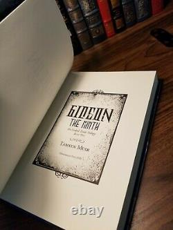 Gideon the Ninth Tamsyn Muir Signed Limited Numbered Subterranean Press