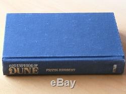 God Emperor of Dune. Frank Herbert. Signed 1st Edition. Fine