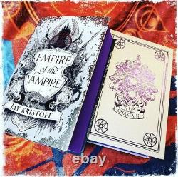 Goldsboro Empire Of The Vampire Jay Kristoff Signed Limited Edition