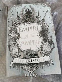 Goldsboro Empire of the Vampire Jay Kristoff Signed & numbered (available)