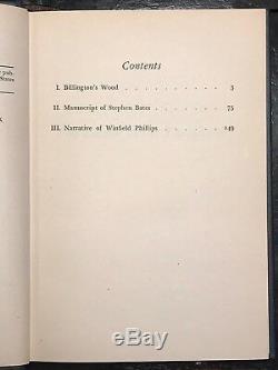 H. P. LOVECRAFT & AUGUST DERLETH LURKER AT THE THRESHOLD, 1st/1st 1945 SIGNED