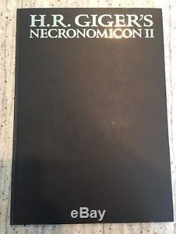 H R Gigers Necronomicon I (Signed By Clive Barker) & II 1st Eds 1st Printings