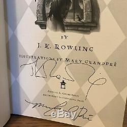 Harry Potter & Prisoner of Azkaban, J K Rowling, 1st/1st, DOUBLE SIGNED (JSA)