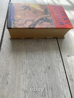 Harry Potter and the Goblet of Fire Hand Signed by J. K Rowling