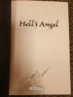 Hell's Angels Sonny Barger Leather Bound Book Death's Head 2175