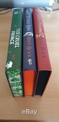Holly Black Cruel Prince Wicked King Queen Nothing SIGNED Fairyloot/Illumicrate