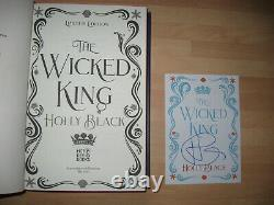 Holly Black The Wicked King Queen Of Nothing Illumicrate signed 1st Folk Of Air