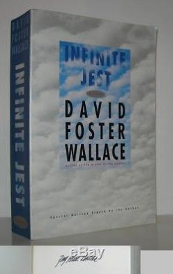 INFINITE JEST David Foster Wallace First Edition 1st Printing Galleys Signed