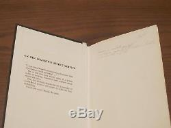 Ian Fleming ONE of 250 SIGNED DELUXE MINT MUST SEE! With DJ! OHMSS BOND