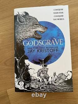 Illumicrate Nevernight Full Set Signed Godsgrave Darkdawn Fairyloot Jay Kristoff