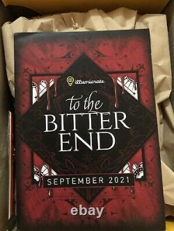 Illumicrate September 2021 Empire Of The Vampire Book & Author Letter