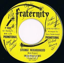 Imaginations Strange Neighborhood Signed Copy Northern Soul Fraternity Demo