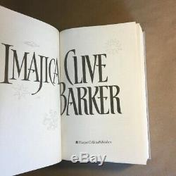 Imajica by Clive Barker (Signed, Limited First Edition, Hardcover in Slipcase)
