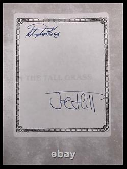 In The Tall Grass SIGNED by STEPHEN KING & Son JOE HILL New 1st Novella 1/300