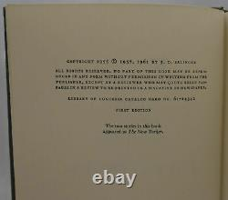 J D Salinger Franny and Zooey 1961 True First Edition SIGNED