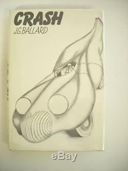 J G Ballard-CRASH 1st US ed 1st ptg HCDJ Fine/Fine Signed