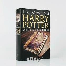 J. K. Rowling Harry Potter and the Half-Blood Prince First Edition Signed
