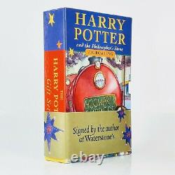 J. K. Rowling Harry Potter and the Philosopher's Stone First Edition Signed