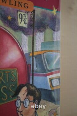 J. K. Rowling, Harry Potter and the Philosopher's Stone, UK signed first edition