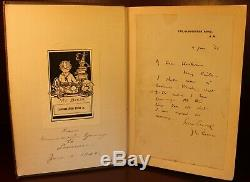 J. M. Barrie Peter and Wendy SIGNED 1911 First American Edition Peter Pan Disney