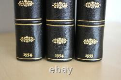 J. R. R. Tolkien, The Lord of the Rings, UK first edition set with signed letter