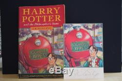 JK Rowling (1997) Harry Potter and the Philosopher's Stone, first edition signed