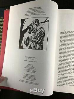 Jack Kirby Treasury Volume 2 1st Edition Signed & Numbered 312/450 AL52