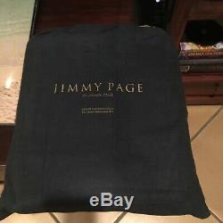 Jimmy Page Genesis Publications Signed Collector Autobiography Leather Rare Book