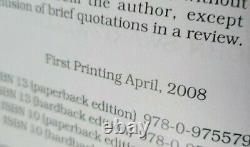 John Swartzwelder 1st 6 Frank Burly Books Signed Time Machine Did It Simpsons