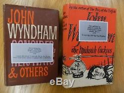 John Wyndham 1st Edition Collection including signed copy of Day of the Triffids