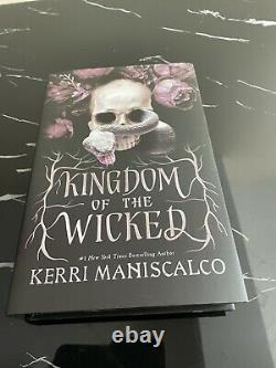Kingdom Of The Wicked Fairyloot Signed Edition