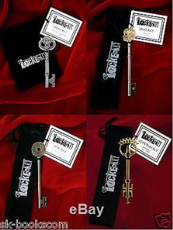 LOCKE & KEY Joe Hill FULL 30 KEYS & BUST MATCHING # LTD ED SIGNED Ghost Anywhere