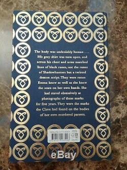 Lady Midnight Cassandra Clare WATERSTONES Runes Edition SIGNED
