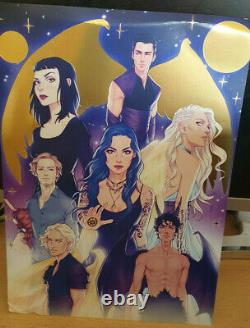 Laini Taylor Daughter of Smoke & Bone TRILOGY SIGNED Illumicrate with FULL BOX